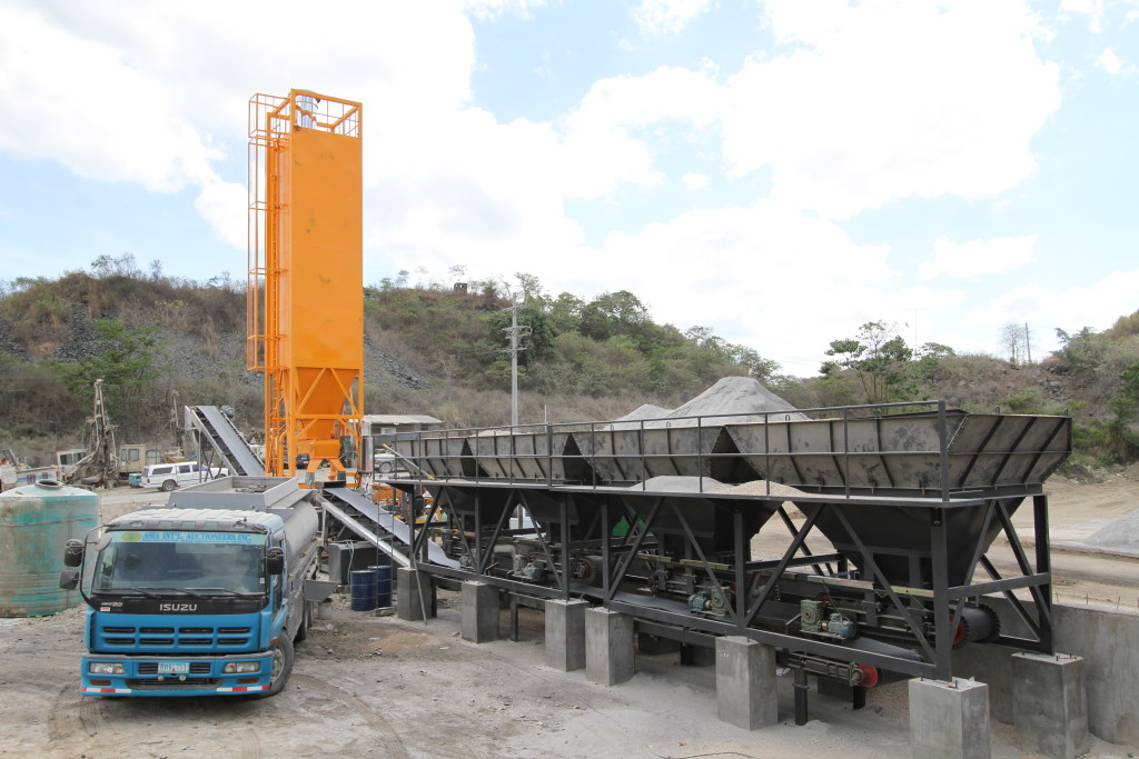 Aran WBS300 Continuous Mixing Plant 4bins1silo