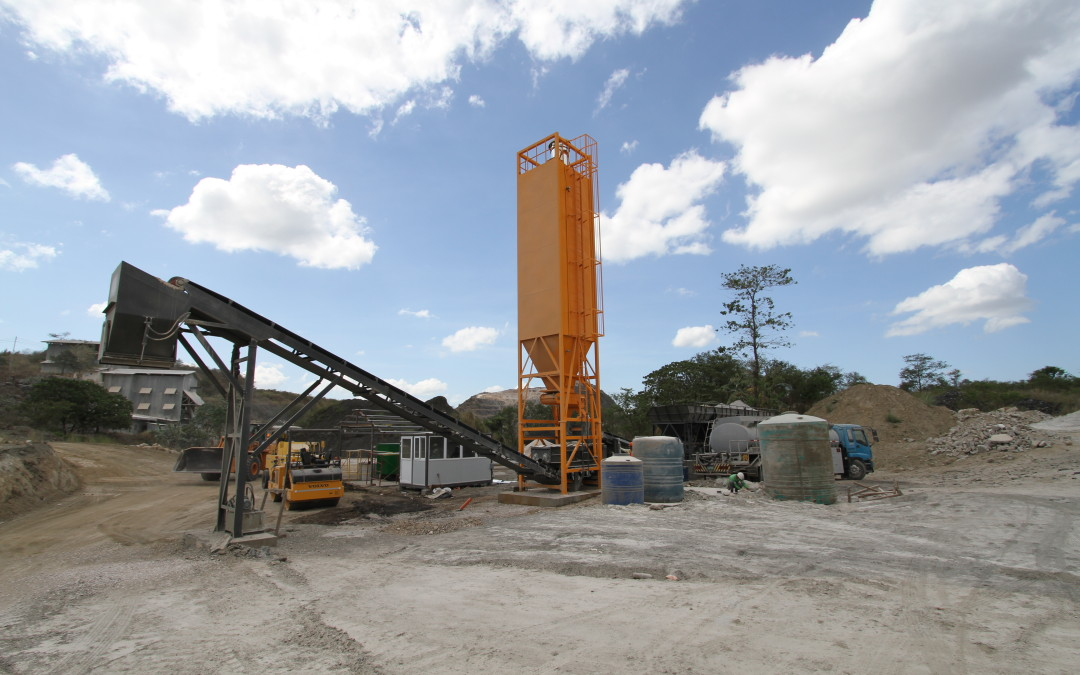 Making a concrete start to a new market in Philippines.  A new solution to the Philippines growing road problems.
